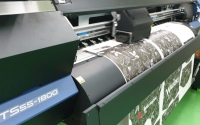 First Mimaki TS55-1800 Modeled Installed And Operational