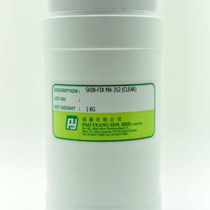 Ma 352 (clear) Rubber Dye 1kg