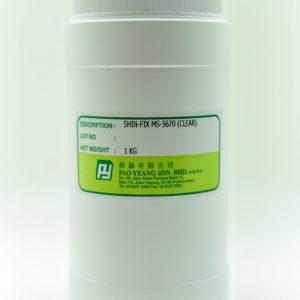 Ms 5670 (clear) Rubber Dye 1kg