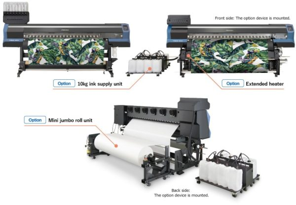 Mimaki Ts55 1800 1.9m Dye Sublimation Printer