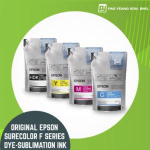 original epson surecolor f series dye sublimation ink 1 litre pack