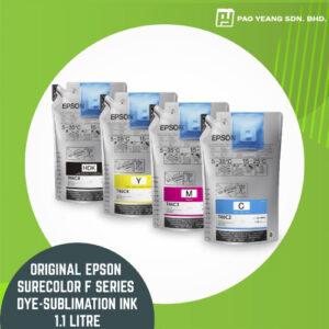 original epson surecolor f series dye sublimation ink 1.1 litre pack
