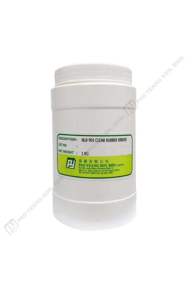 Nlb 901 Clear Rubber Binder 1kg Output 01