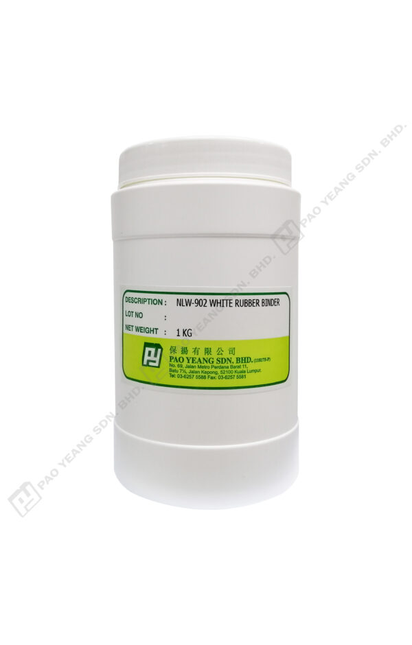 Nlw 902 White Rubber Binder 1kg Output 01